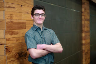 College Inside Track student Nick Rutherford