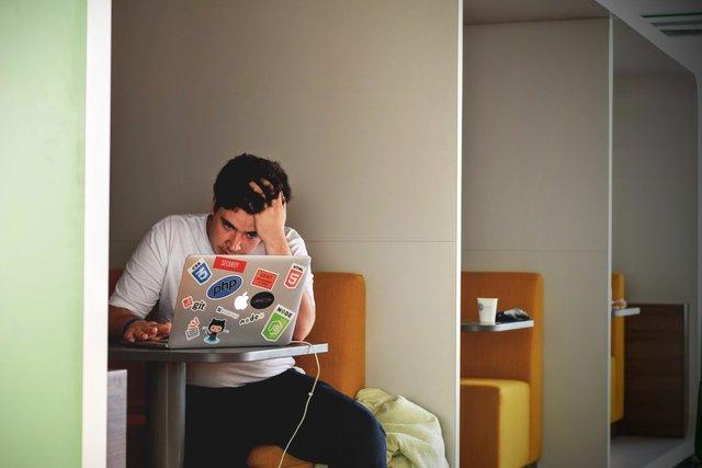 uncertain college student